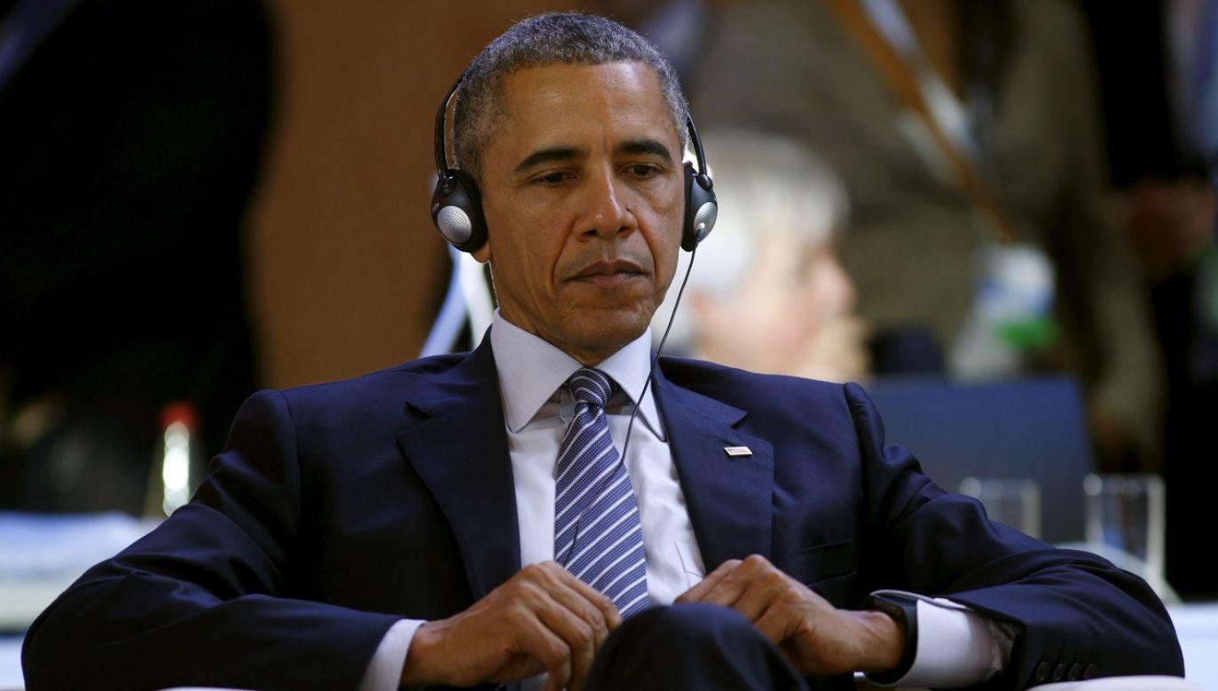 """Tematem telefonicznej rozmowy Trzaskowskiego z Obamą było między innymi """"znaczenie Polski dla zjednoczonej Europy"""". (fot. Reuters Kevin Lamarque)"""