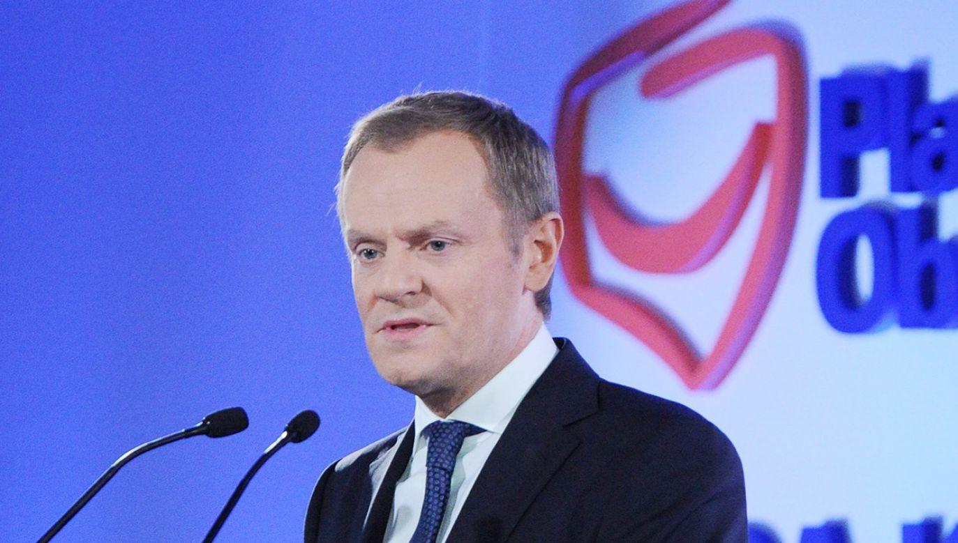 W połowie stycznia 2001 roku powstała PO (fot. PAP/Grzegorz Jakubowski )