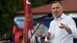 Andrzej Duda apelował o trwanie przy tradycji (fot. PAP/Darek Delmanowicz)
