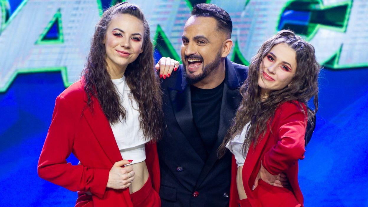 Zwycięska para mogła być tylko jedna! Decyzją widzów laureatkami zostały Oliwia i Roksana! (fot. TVP)