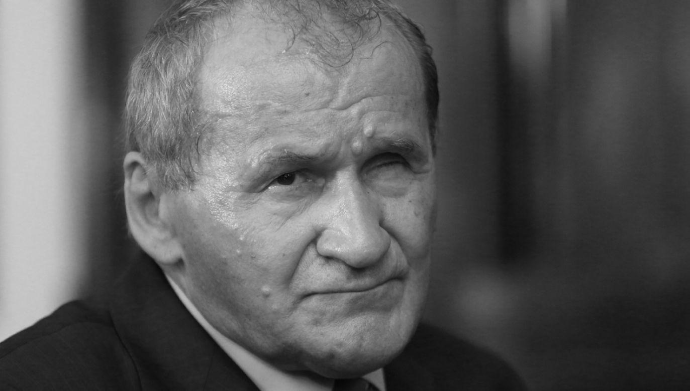 Miał 79 lat (fot. arch.PAP/Leszek Szymański)