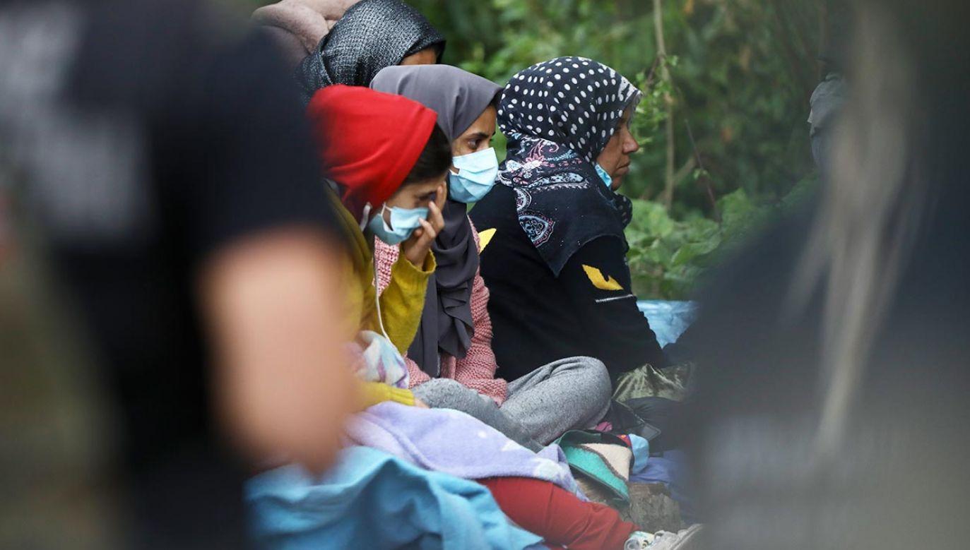 Konwój z pomocą humanitarną dla migrantów (fot. STR/NurPhoto via Getty Images)