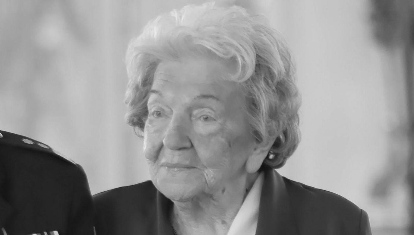 Maria Czernek miała 100 lat (fot. PAP/Wojciech Olkuśnik)