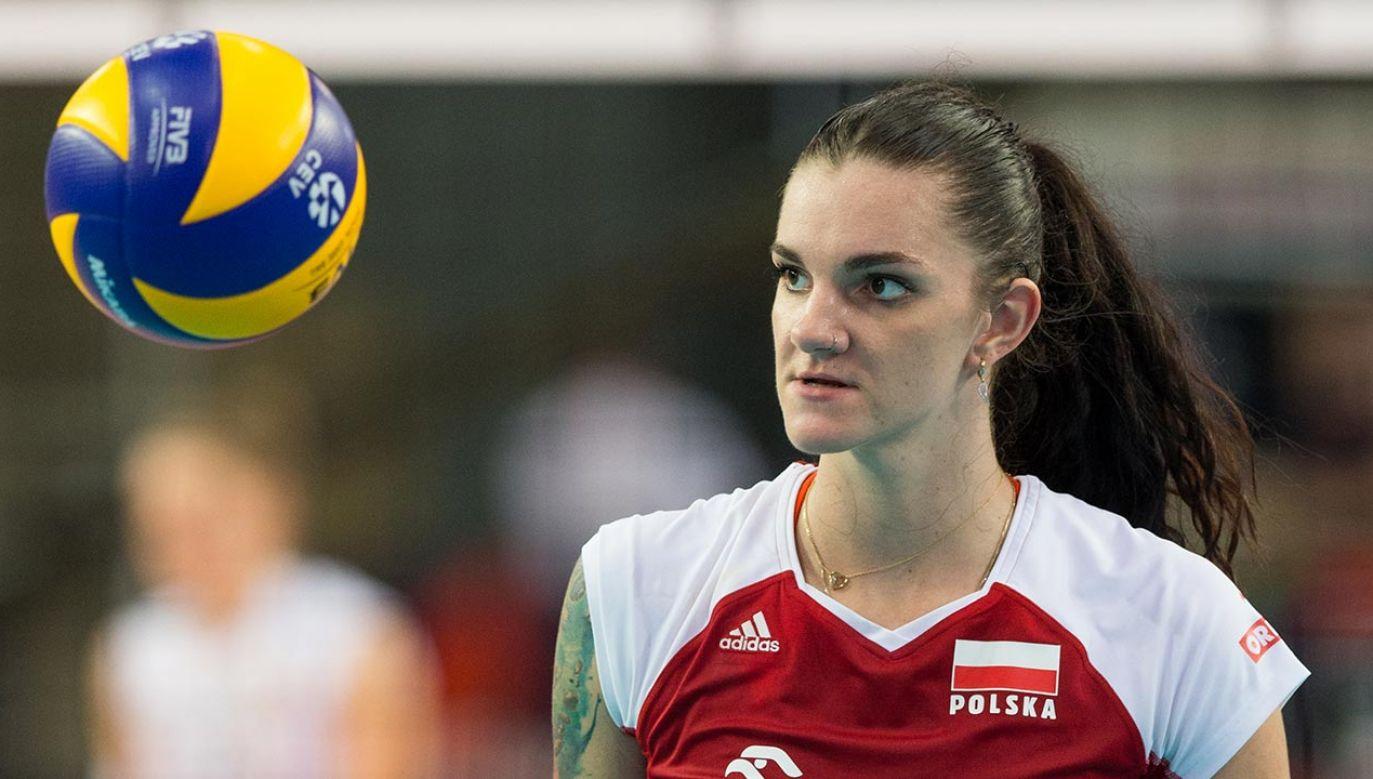 Malwina Smarzek-Godek to najlepsza polska siatkarka (fot. Foto Olimpik/NurPhoto via Getty Images)