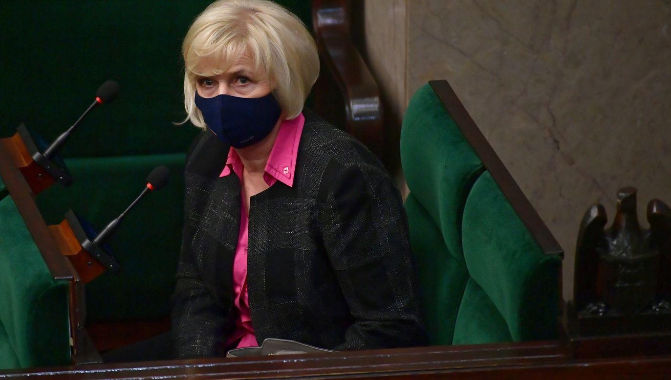 Lidia Staroń. Photo: PAP/Marcin Obara