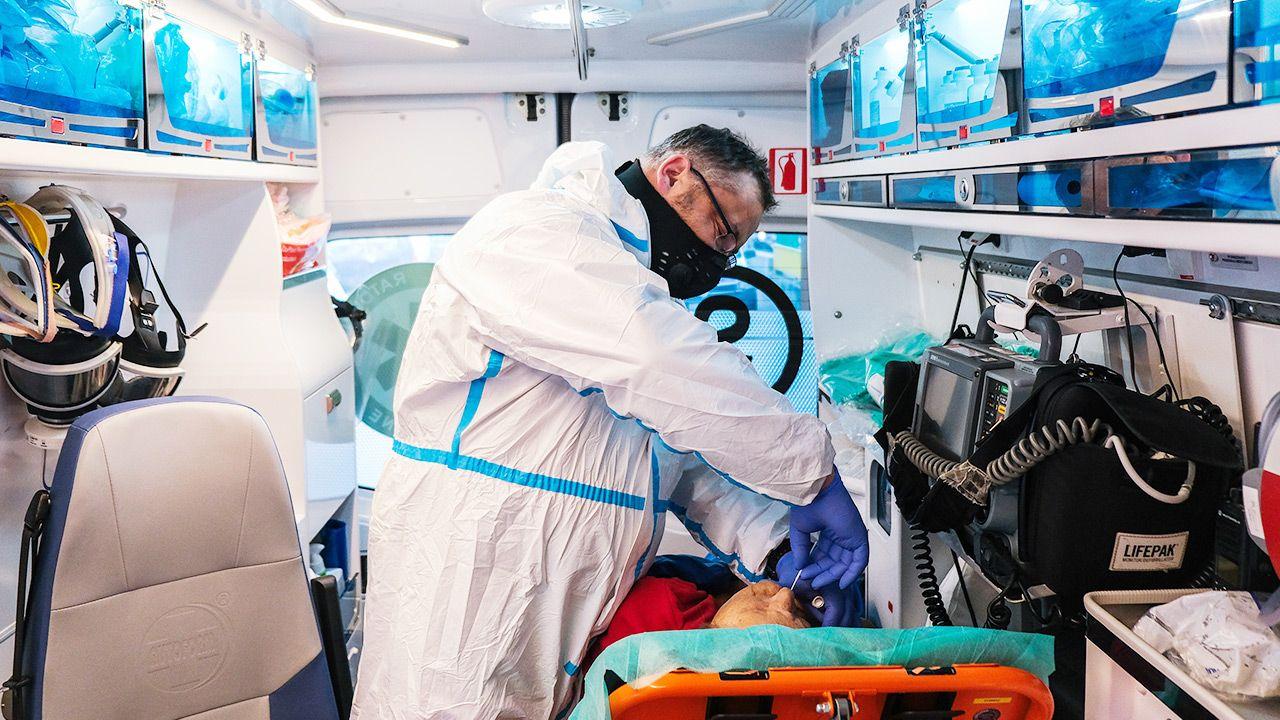 Raport o epidemii koronawirusa w Polsce (fot. Omar Marques/Getty Images)
