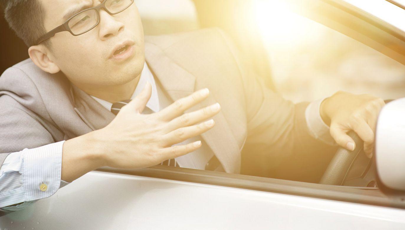 Kierowca przyznał, że podczas jazdy odpisywał na SMS-y z gratulacjami (fot. Shutterstock/szefei)
