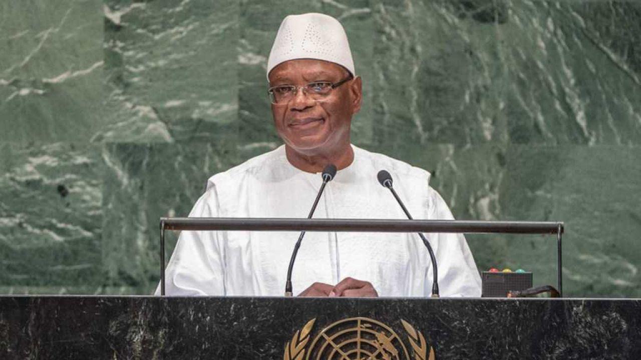 Ibrahim Boubacar Keita stracił władzę po siedmiu latach rządów (fot. UN)