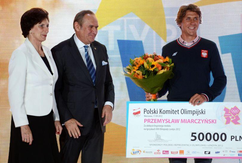 Przemysław Miarczyński (fot. PAP/Bartłomiej Zborowski)