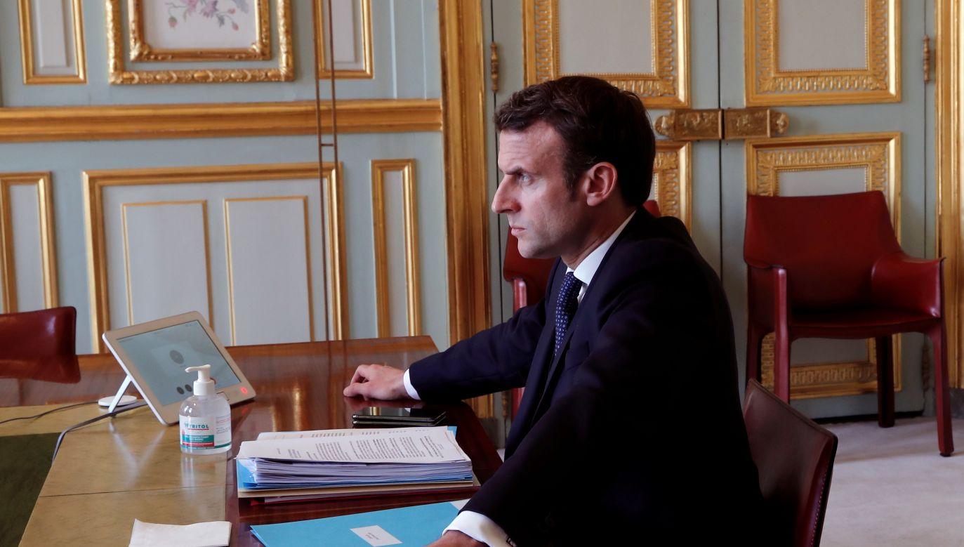 "Prezydent Francji groził ""śmiercią Schengen"" (fot. PAP/EPA/BENOIT TESSIER)"