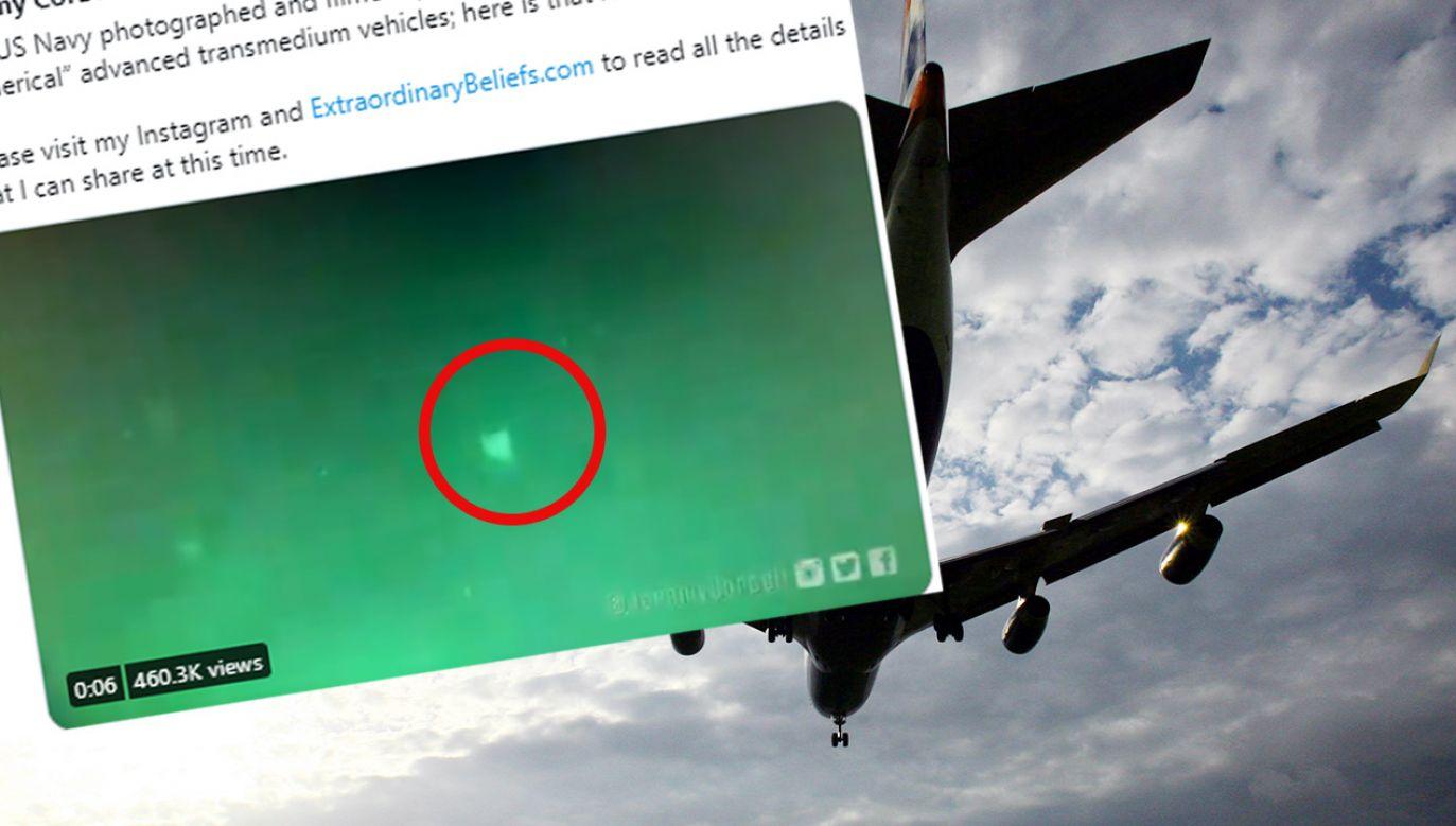 Niezidentyfikowany obiekt latający nad amerykańskim statkiem? Kolejne doniesienia o UFO (fot. Matt Cardy/Getty Images)