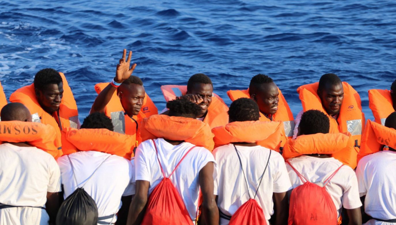 Europa zmaga się z kryzysem migracyjnym (fot. PAP/EPA/Hannah Wallace Bowman / Doctors Without Borders / HANDOUT)