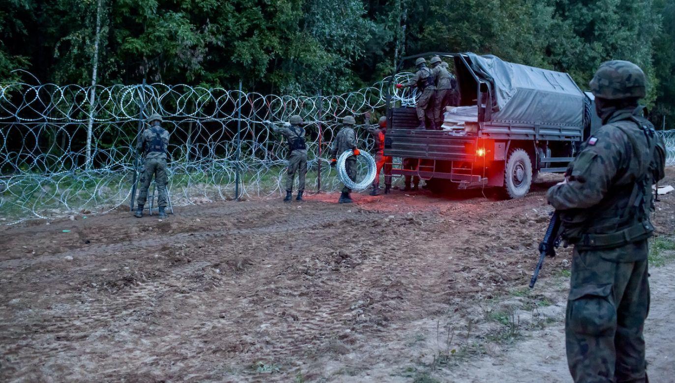 Udaremniono próby nielegalnego przekroczenia granicy (fot. arch.PAP/M.Onufryjuk)