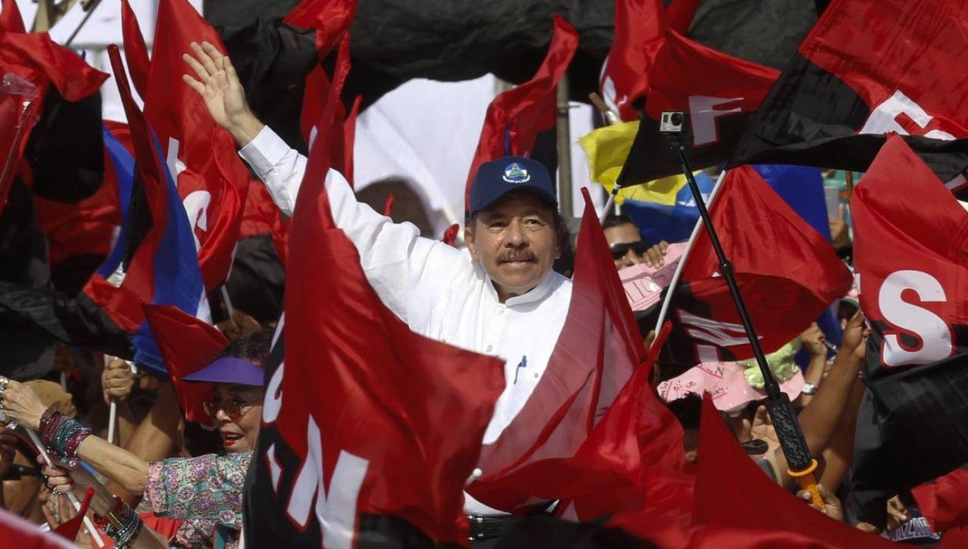Daniel Ortega rządzi w sposób autorytarny (fot. Getty Images/ Anadolu Agency / Contributor)