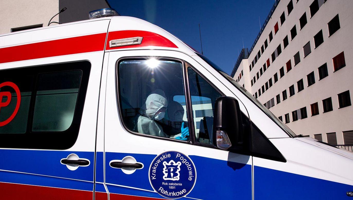 Trzymając się reżimów sanitarnych możemy odsuwać szczyt zachorowań w czasie – przypomniał min. Szumowski (fot. Dominika Zarzycka/NurPhoto via Getty Images)
