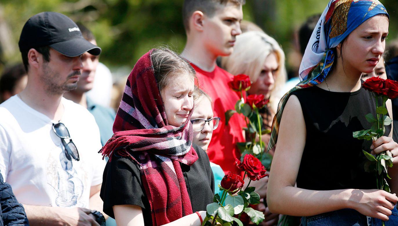 Kazań w żałobie (fot. PAP/EPA/Roman Kruchinin)