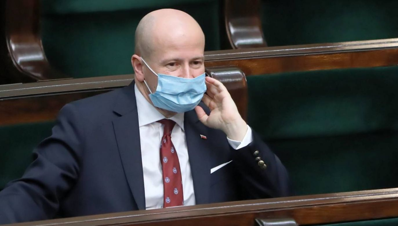 Sejm wybrał Bartłomieja Wróblewskiego na stanowisko RPO (fot. PAP/Wojciech Olkuśnik)
