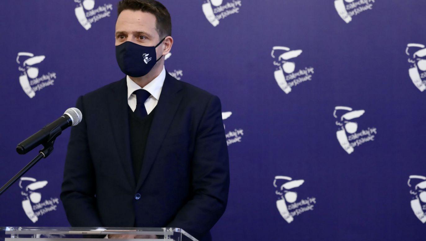 Co z obietnicą prezydenta Warszawy Rafała Trzaskowskiego? (fot. PAP/T.Gzell)