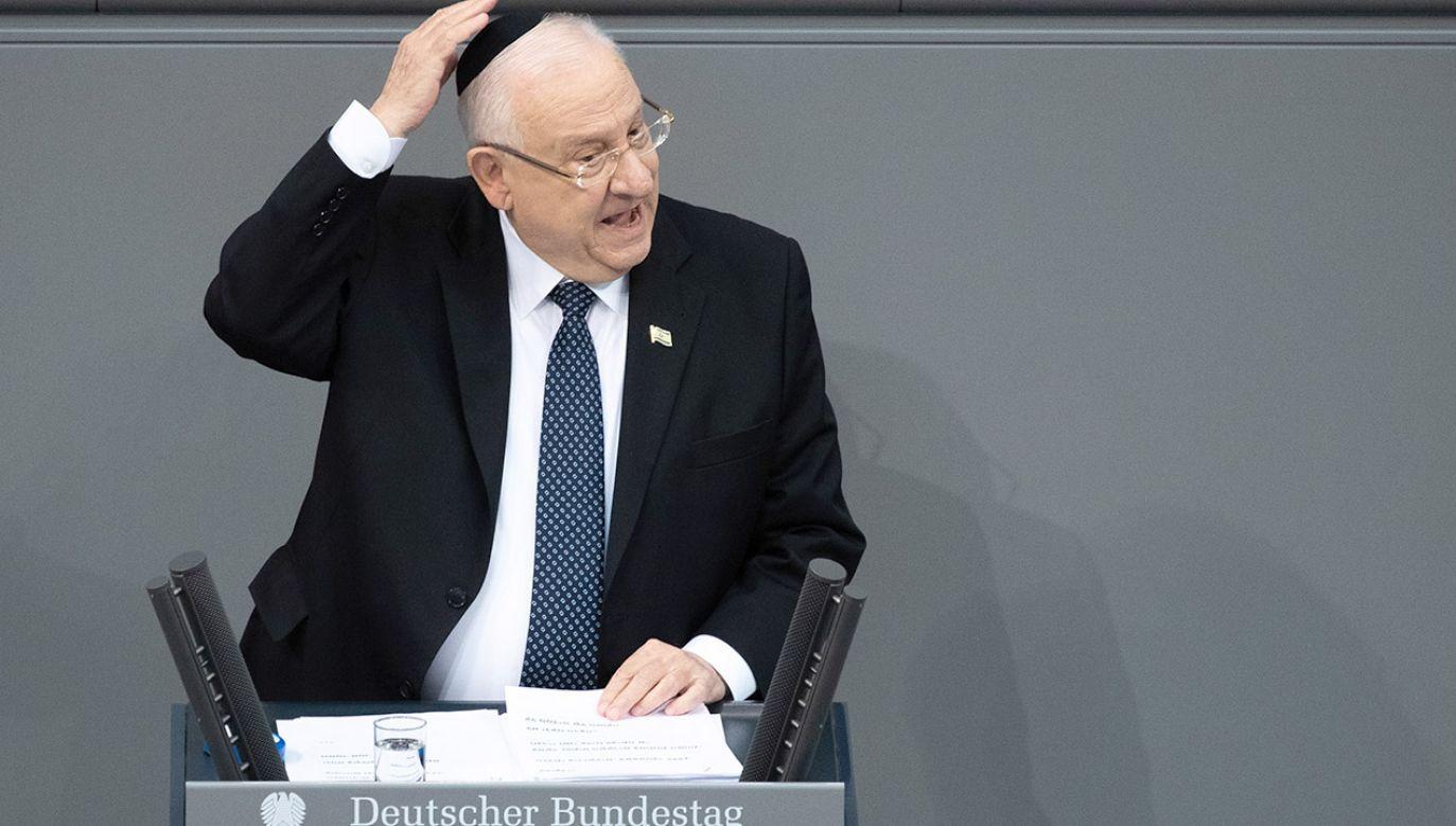 W Niemczech zauważalny jest wzrost antysemityzmu (fot. PAP/EPA/HAYOUNG JEON)