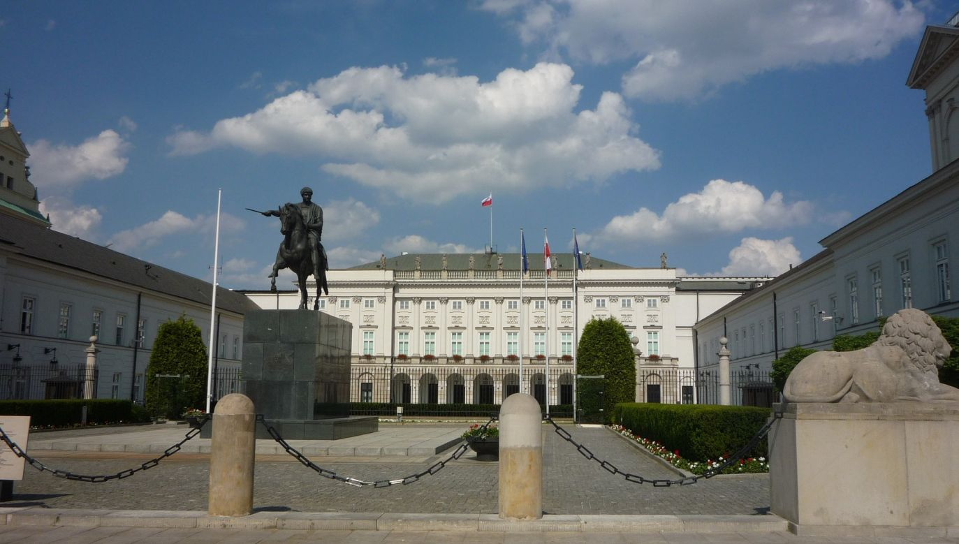 Pałac Prezydencki w Warszawie (fot. pixabay.com)