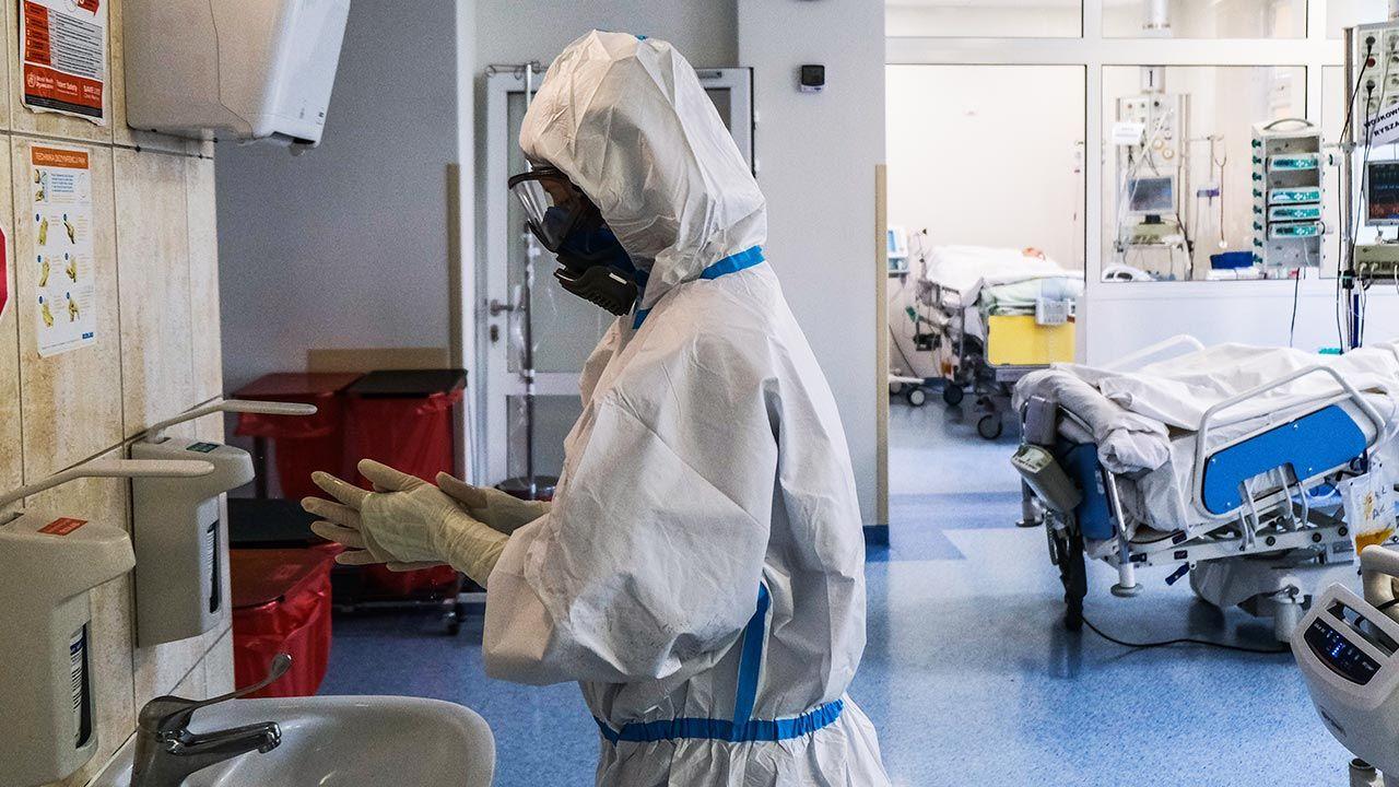 Raport o stanie epidemii koronawirusa w Polsce (fot. Omar Marques/Anadolu Agency via Getty Images)