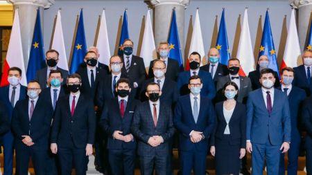 Premier Mateusz Morawiecki spotkał się we wtorek z samorządowcami (fot. KPRM)