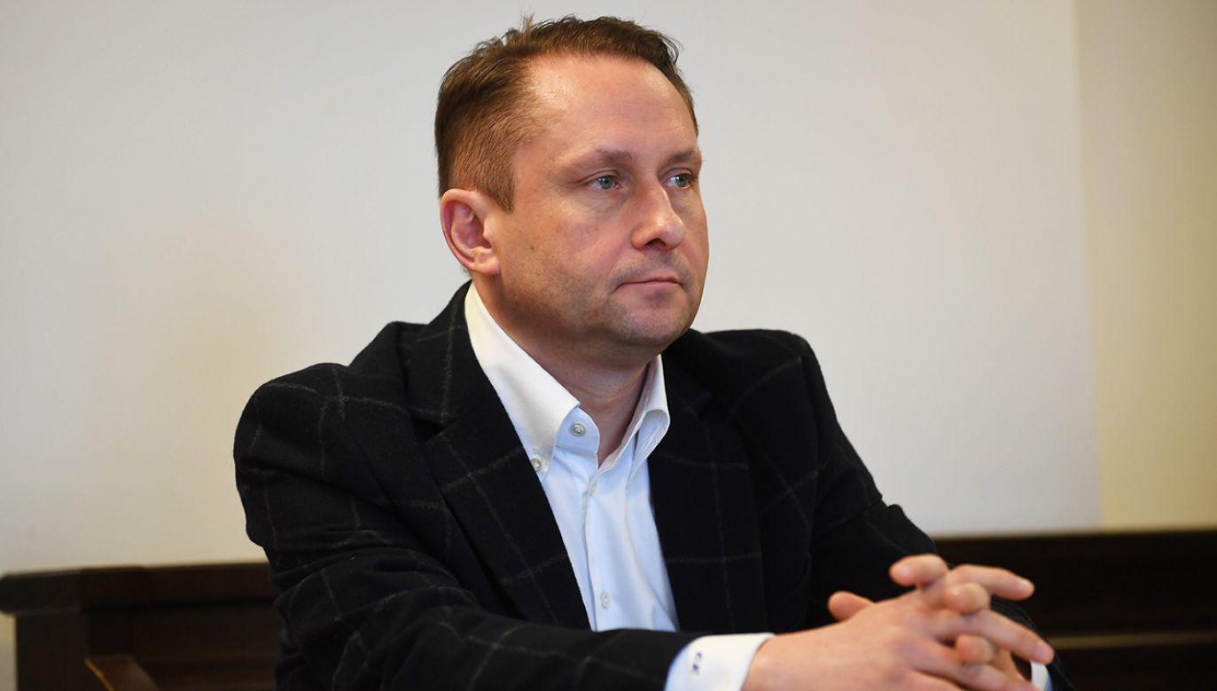 Durczok nie trafił do aresztu (fot. arch.  PAP/Bartłomiej Zborowski)