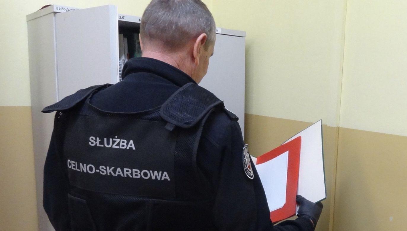 Działania prowadzone były pod nadzorem Prokuratury Rejonowej Warszawa-Ochota (fot. Lubuska Krajowa Administracja Skarbowa)