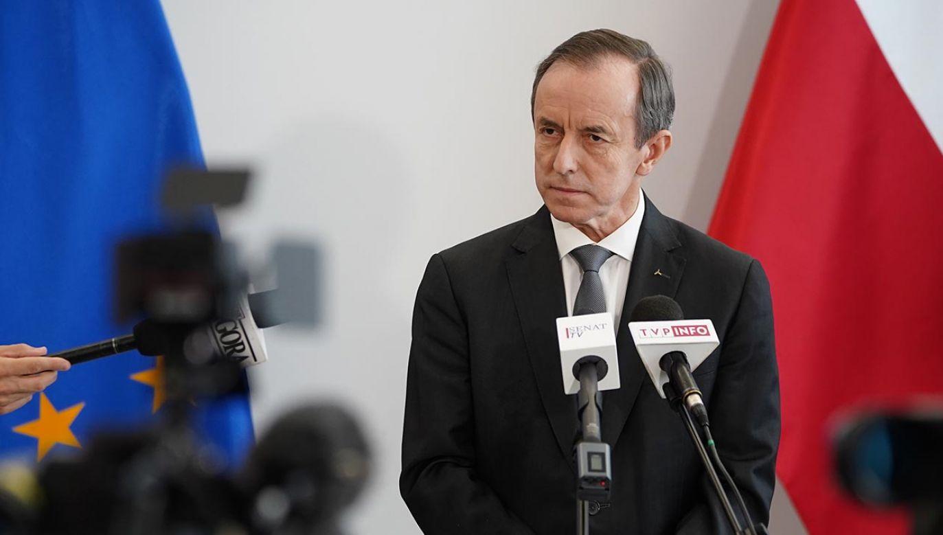 Tomasz Grodzki jest marszałkiem senatu (fot. Forum/Mateusz Wlodarczyk)
