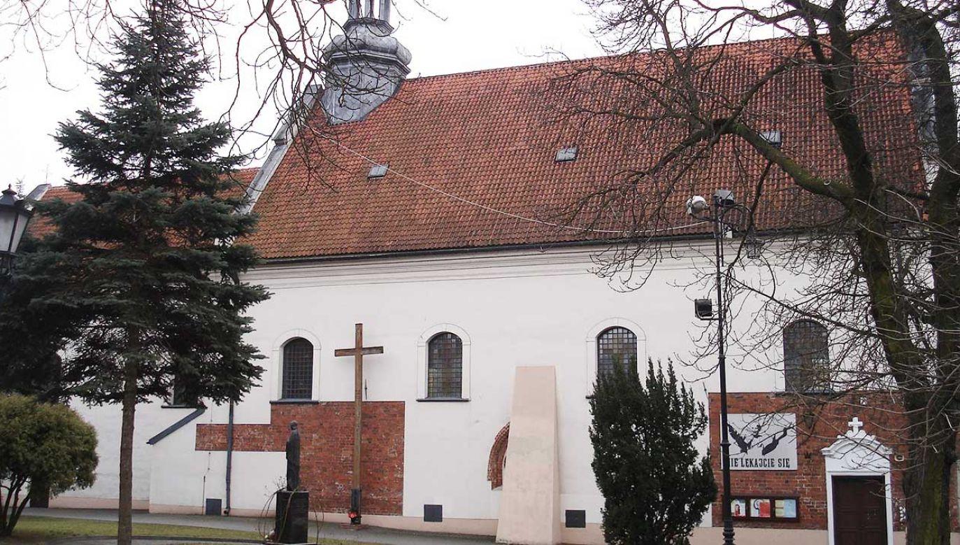 W sprawie gróźb karalnych wobec proboszcza parafii toczy się odrębne śledztwo (fot. pl.wikipedia.org)