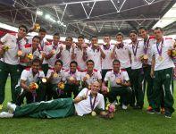 Piłkarze z kraju Azteków sięgnęli po pierwszy w historii olimpijski medal – od razu złoty (fot. Getty Images)