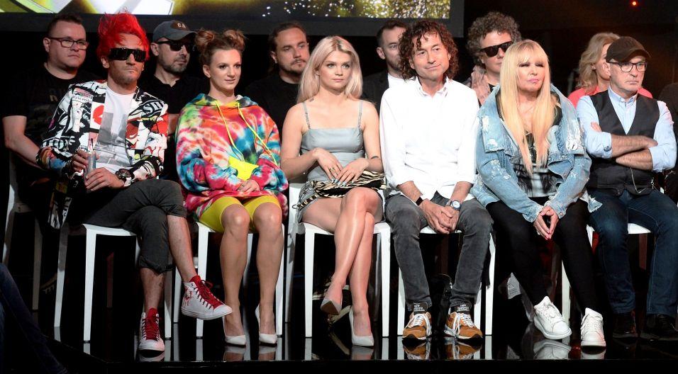 Na specjalnej konferencji zostały przedstawione gwiazdy, które wezmą udział w festiwalu opolskim (fot. Jan Bogacz/TVP)