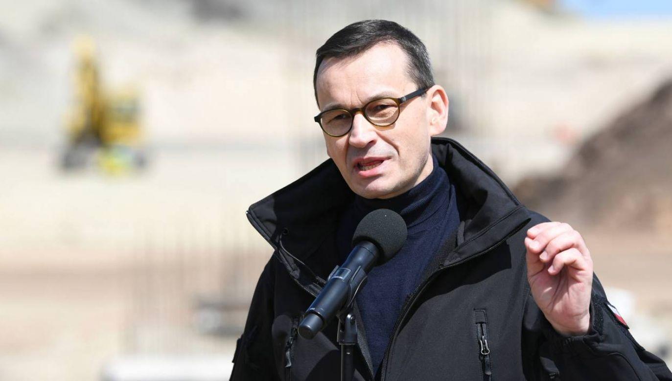 Mateusz Morawiecki zapewnia, że ma pełne zaufanie do ministra zdrowia (fot.PAP/Adam Warżawa)