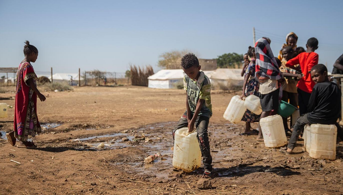 Biskupi apelują o pomoc i otwarcie korytarza humanitarnego  (fot. Abdulmonam Eassa/Getty Images)