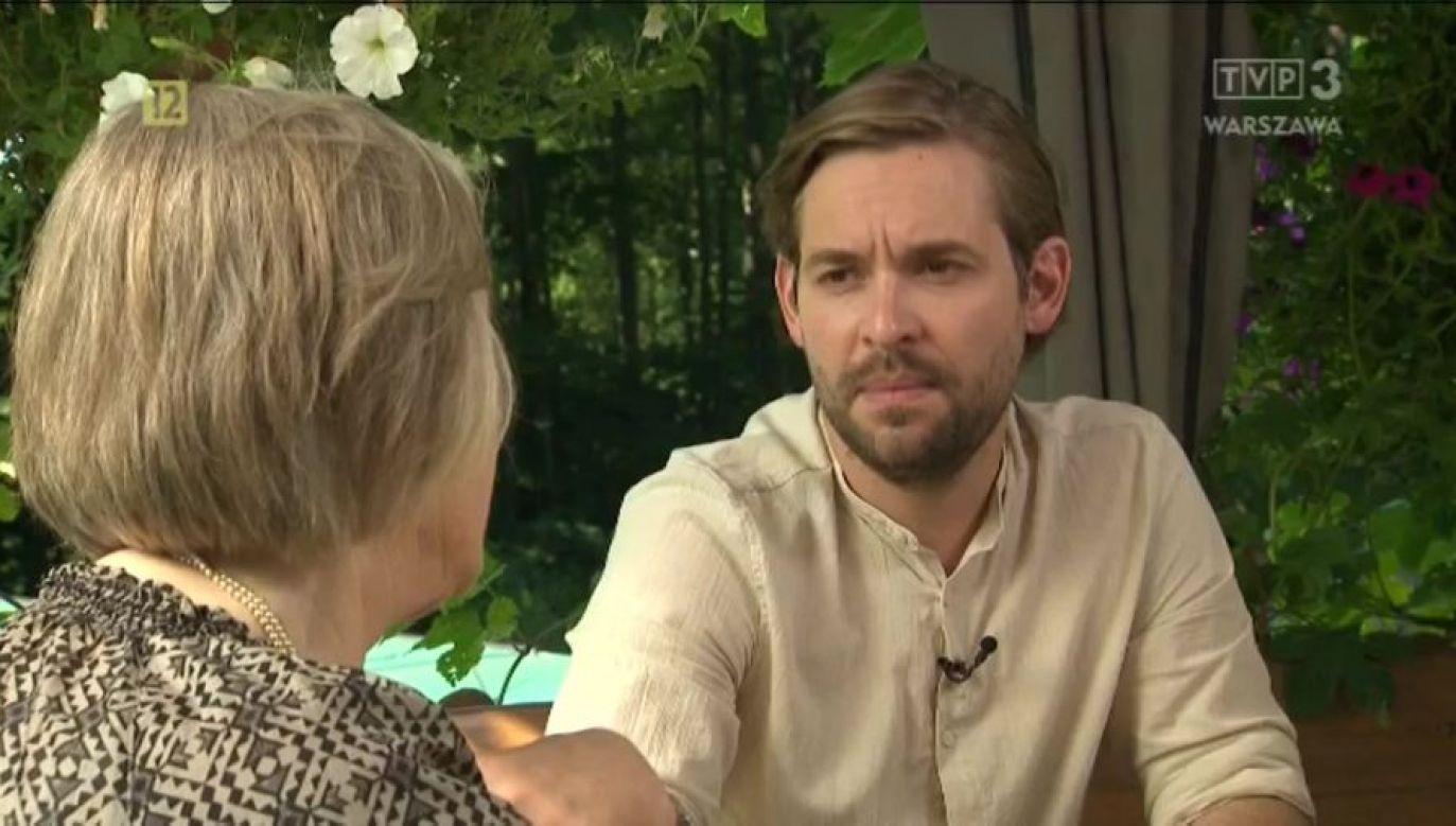 Reportaże Tomasza Grzywaczewskiego można oglądać na antenachTVP (fot. TVP3)
