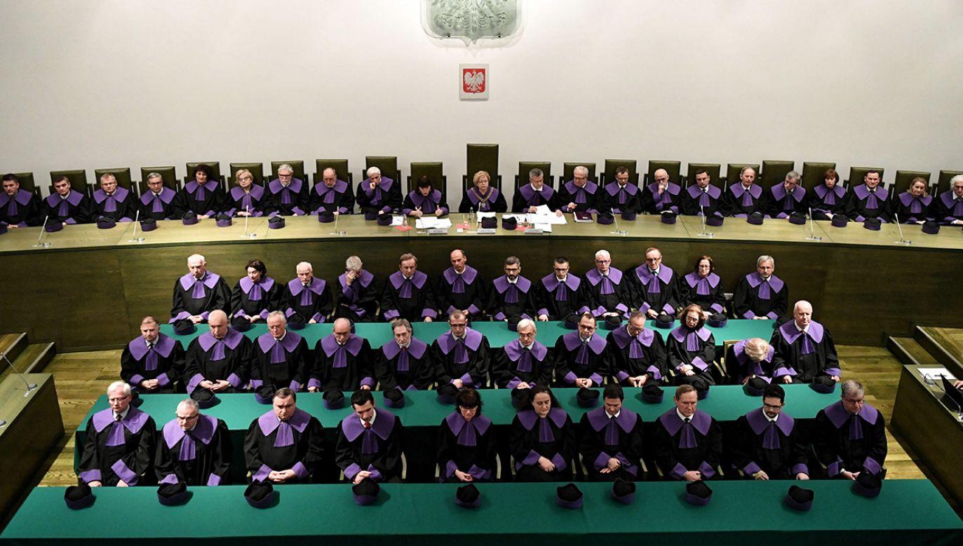Czwartkowe posiedzenie trzech izb SN, w którym uczestniczyło ponad 60 sędziów, było niejawne (fot. PAP/Piotr Nowak)