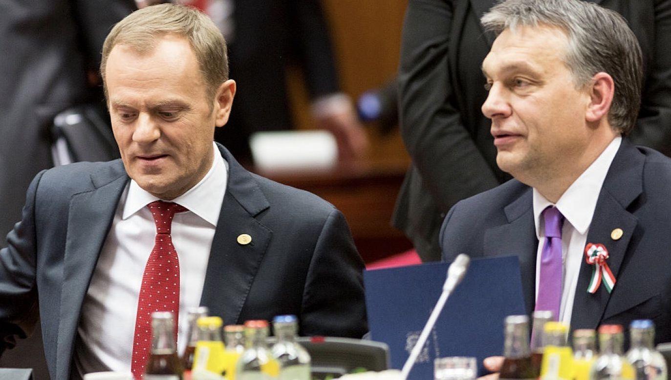 Tusk napisał list do członków Europejskiej Partii Ludowej (fot. Thierry Tronnel/Corbis via Getty Images)