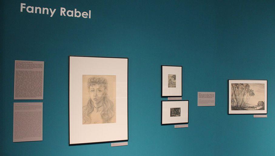 Prace Fanny Rabel przedstawiają codzienne życie Meksyku i otoczenie Fridy Kahlo (fot. tvp.info/Adam Cissowski)