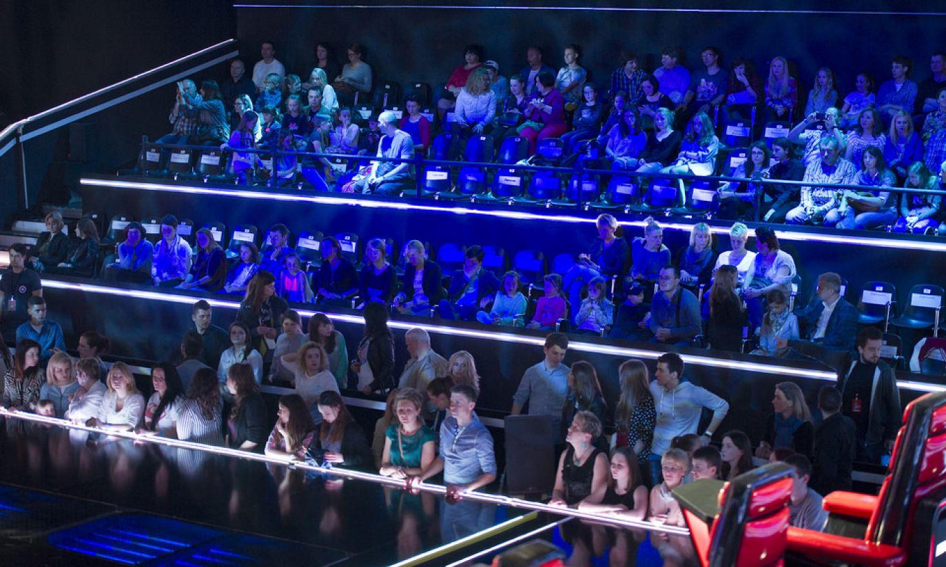 W studiu znajduje się około 400 osób (fot. tvp.info/M.Sochacki)