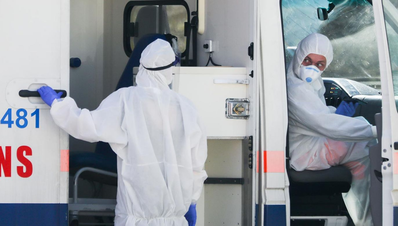 Nowe dane o epidemii koronawirusa w Polsce – sobota 17 kwietnia 2021 (fot. Beata Zawrzel/NurPhoto via Getty Images)