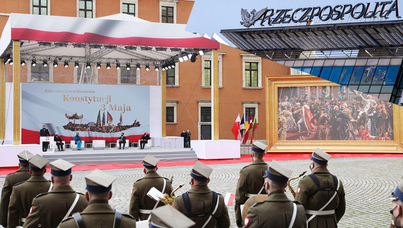 Prezydent Andrzej Duda zorganizował szczyt pięciu państw położonych w obrębie dawnej Rzeczypospolitej  (fot. PAP/Leszek Szymański; Shutterstock)