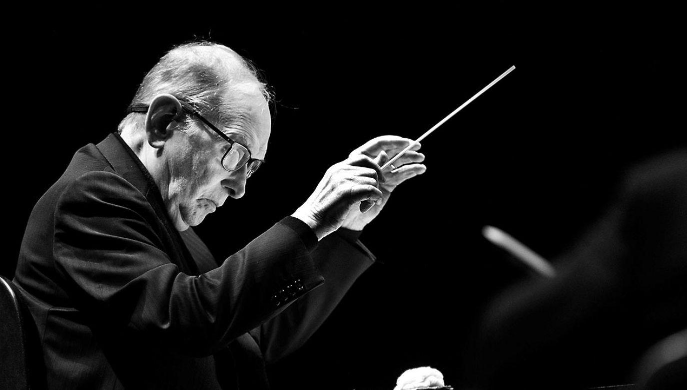 Ennio Morricone zmarł w wieku 91 lat (fot. PAP/EPA/PAUL BERGEN)