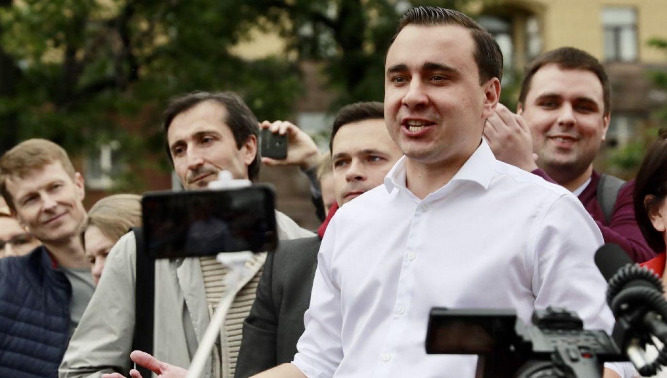 Iwan Żdanow poszukiwany listem gończym (fot. Sergei Fadeichev\TASS\Getty Images)