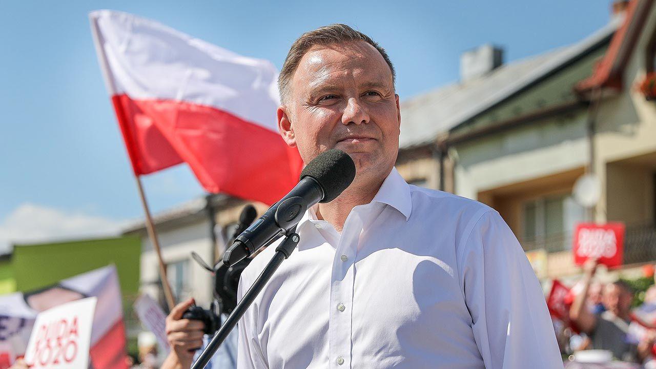 Andrzeja Dudę zapytano o Marsz Niepodległości i deklarację Rafała Trzaskowskiego (fot. Flickr/Andrzej Duda)