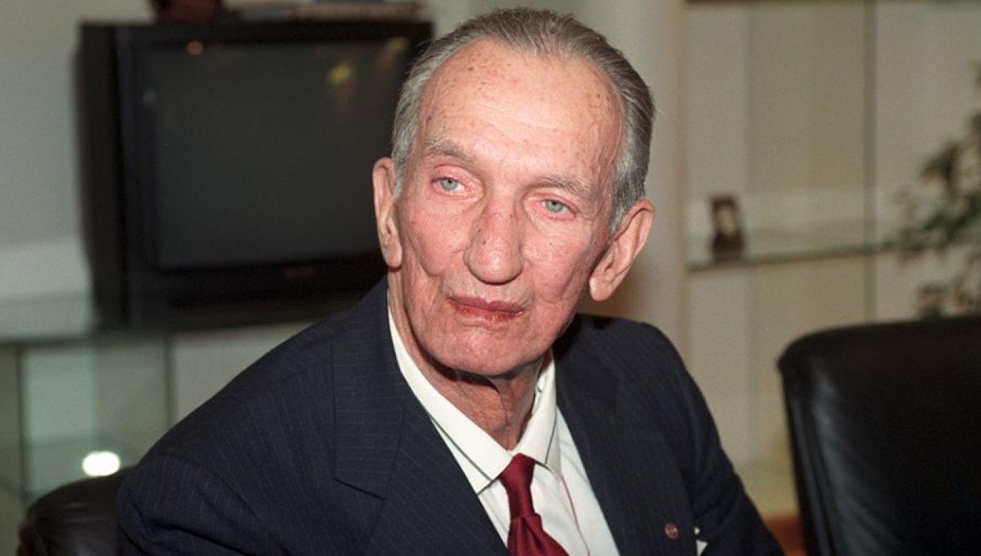 Jan Karski alarmował, że Niemcy mordują Żydów na masową skalę (fot. TVP)