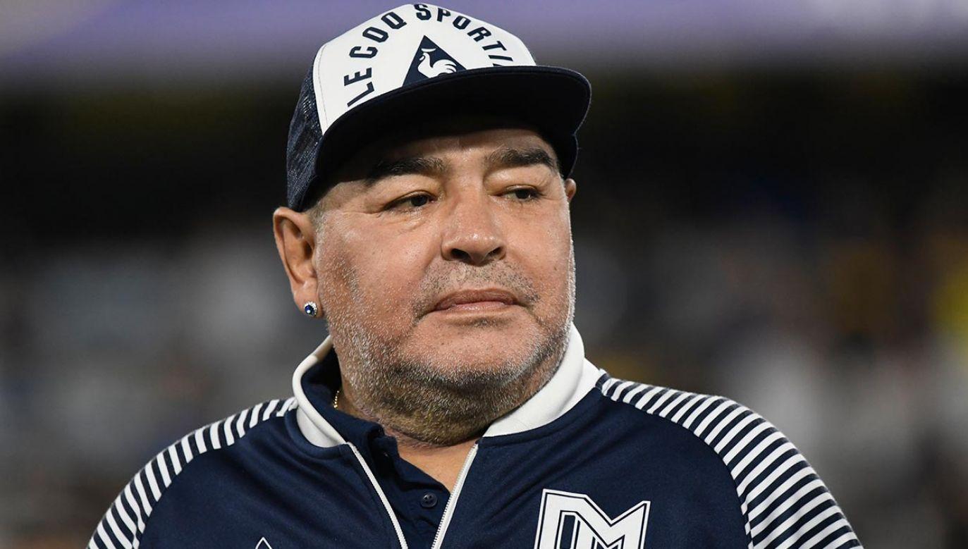 Diego Maradona zmarł w wieku 60 lat (fot. Gustavo Garello/Jam Media/Getty Images)