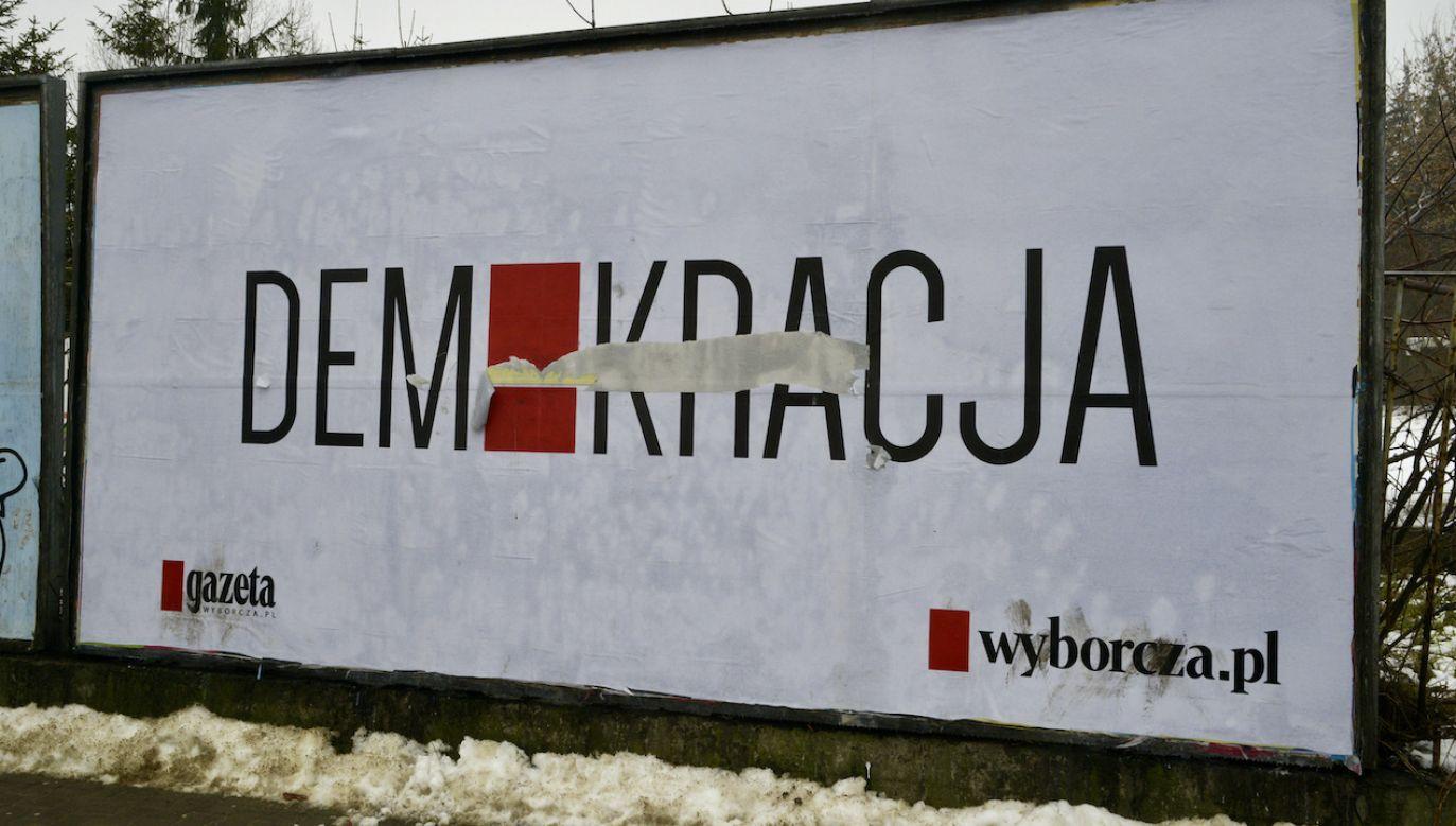 """Jacek Żakowski ocenia, że zmiany w """"GW"""" zagrażają demokracji w Polsce (fot. Wlodzimierz Wasyluk/Forum)"""