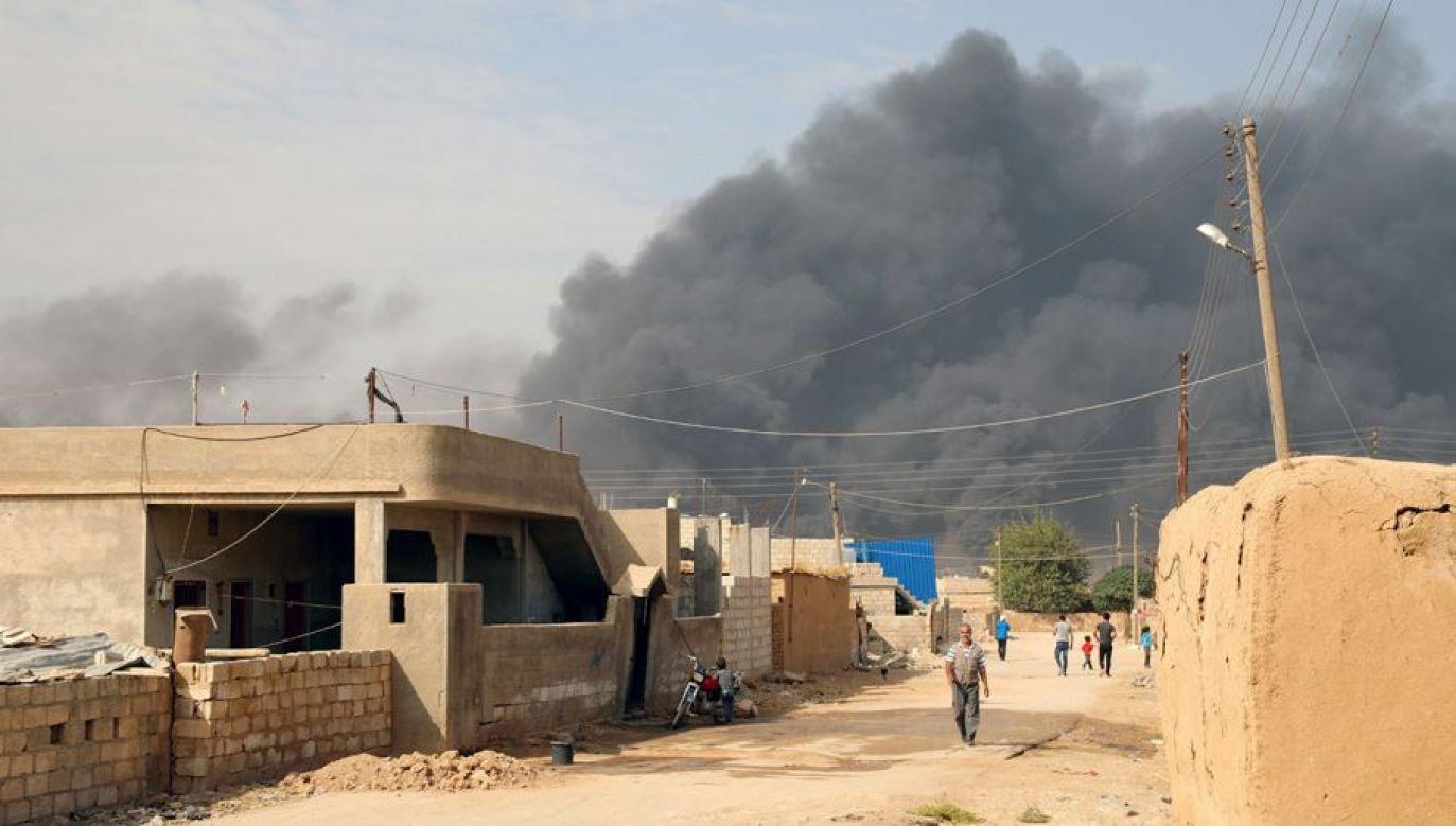Wojny trwają jednak w najlepsze (fot. PAP/EPA/AHMED MARDNLI)