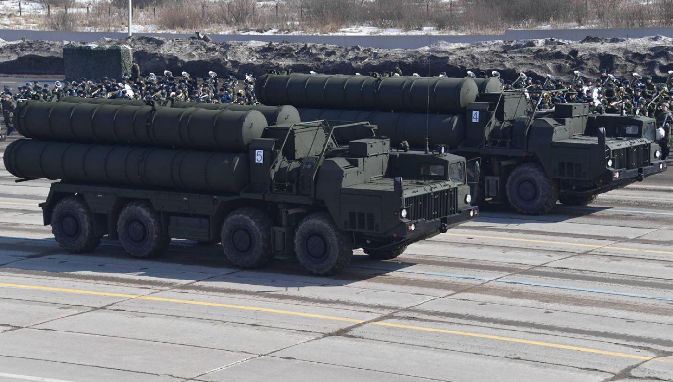 System S-400 ma zostać wdrożony w Turcji w 2020 r. (fot. PAP/RUSSIAN LOOK)