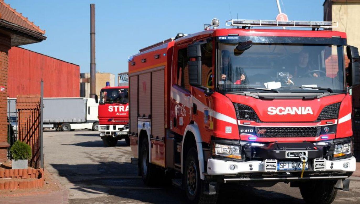 Najwięcej interwencji, bo prawie 50 odnotowali strażacy na Pomorzu Zachodnim (fot.PAP/Andrzej Grygiel, zdjęcie ilustracyjne)